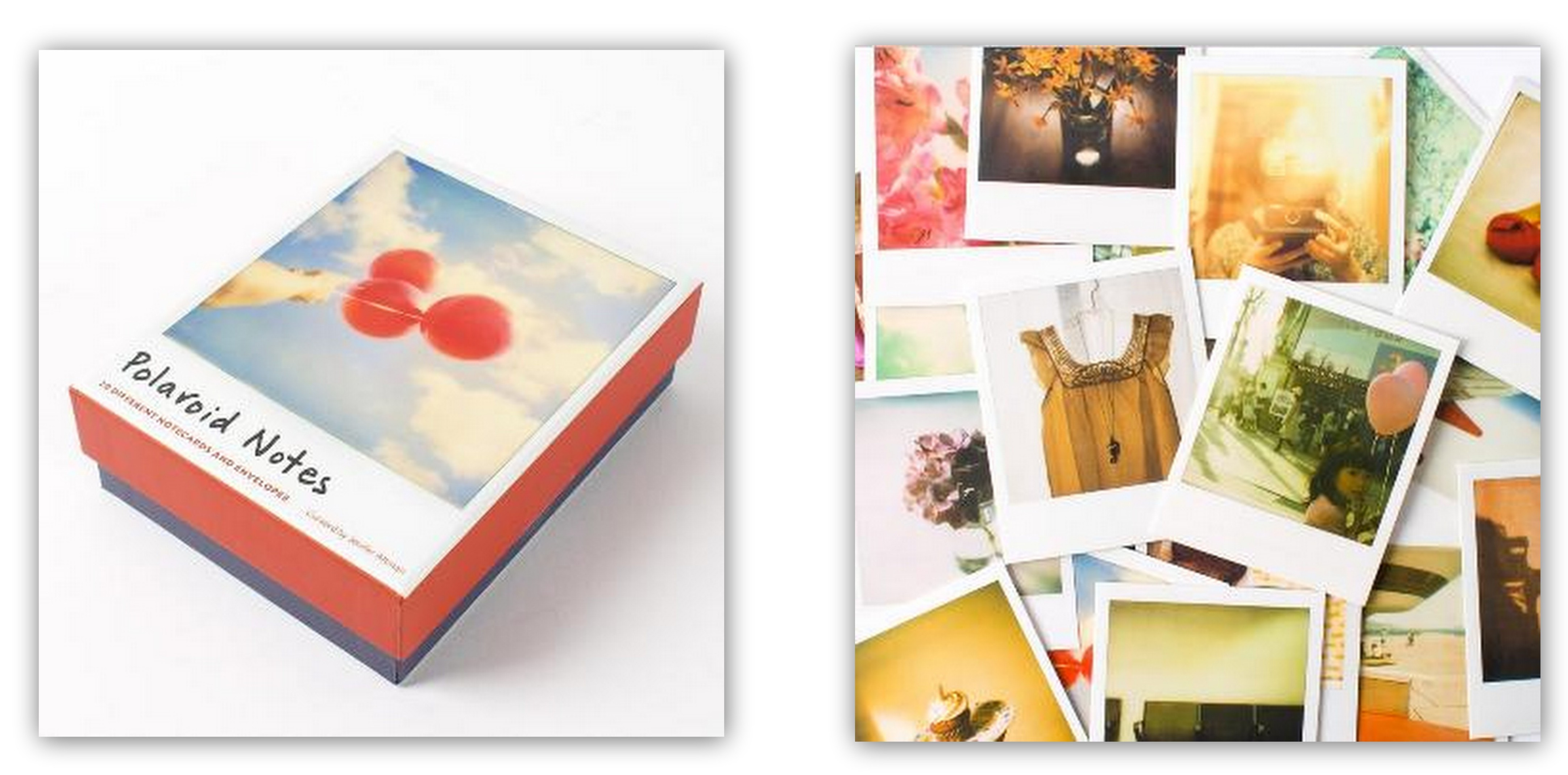 Holiday gift idea polaroid notecards gift ideas from theprettydish negle Image collections