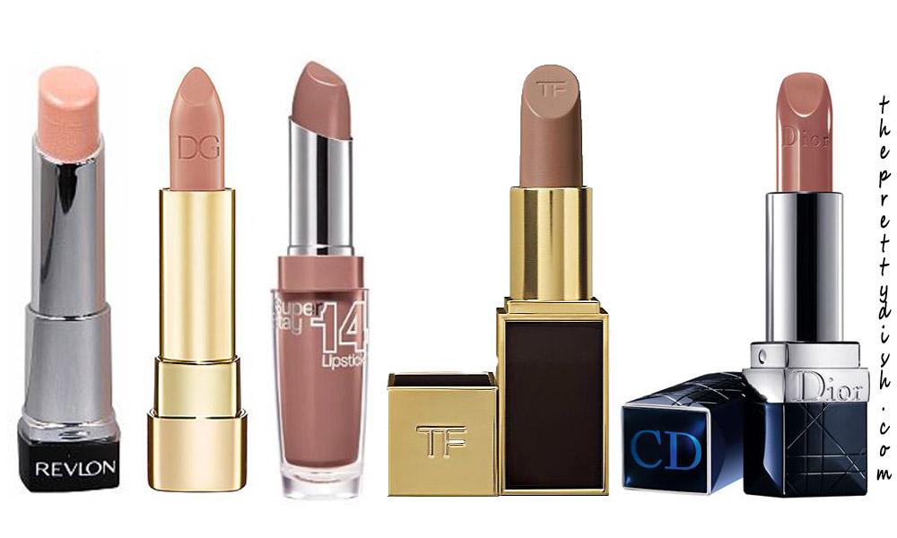 nude lipsticks |The Pretty Dish